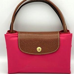 Longchamp Li Pilage Medium Purse Pink New